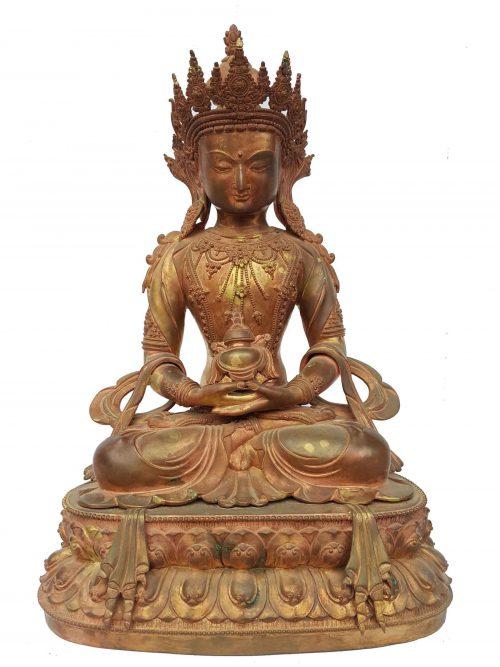 Aparmita Statue  Waiting Patina Finishign