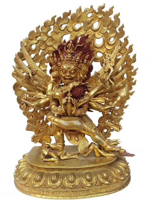 Vajrakilaya Shakti Statue