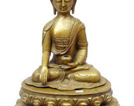 Shakymuni Buddha Statue Sweat finishing