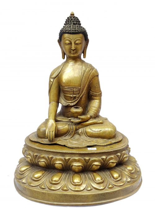 Shakymuni Buddha Statue Sweat finishing