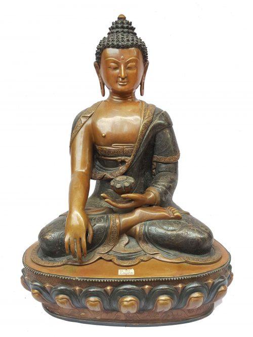 Shakyamuni Buddha Statue Double Color