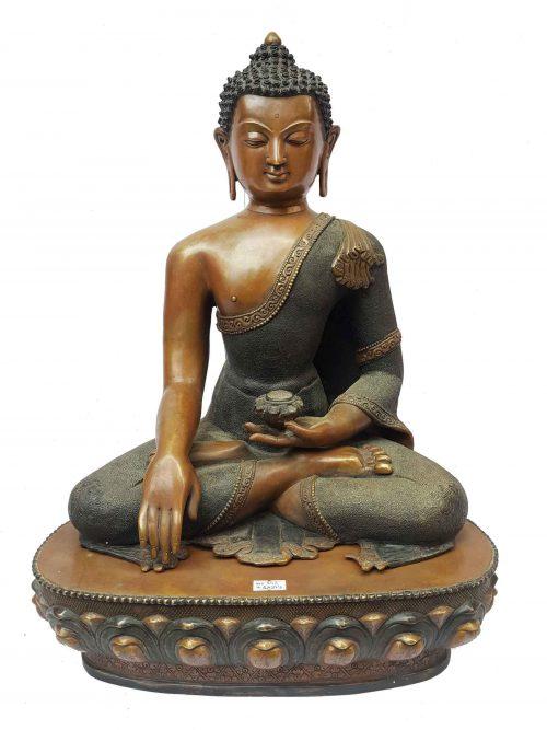 Shakymuni Buddha Statue Double Color