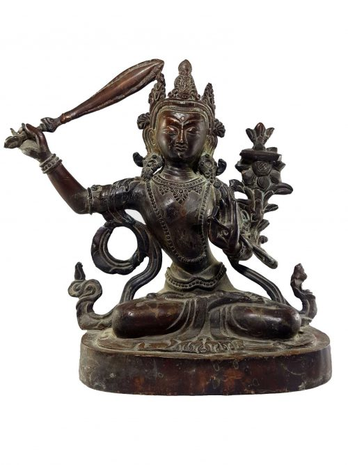 Manjushri Statue Natural finishing