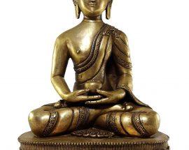 Amitabha Buddha Statue Bronze finishing