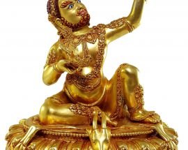 Virupa Statue with Painted Face