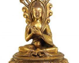Statue of Nagarjuna Bronze finishing