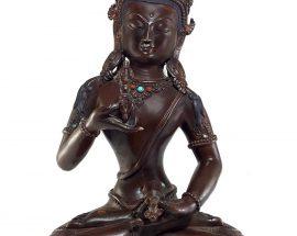 copper Vajrasattva Statue