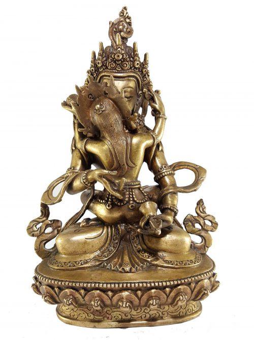 Statue of Vajrasattva Shakti Bronze finishing