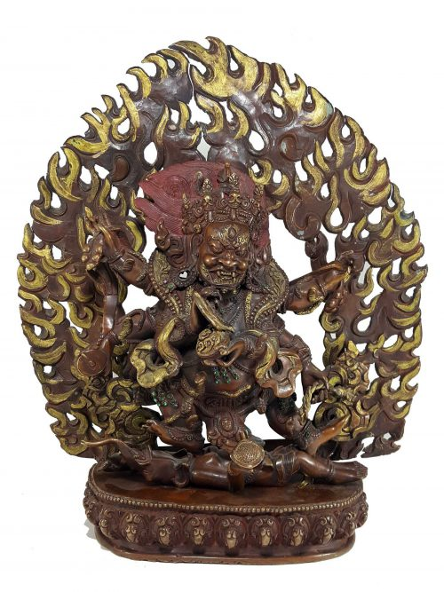 Statue of Black Mahakala
