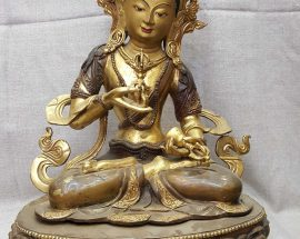 Statue of Vajrasattva and Painted Face Face Repari On Request