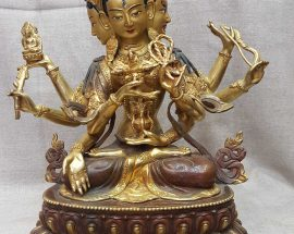 *Old Stock* Statue of Namgyalma with Painted Face