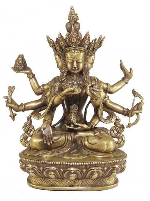 Statue of Namgyalma Ushnishavijaya