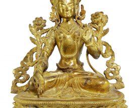 Statue of White Tara Newari Style