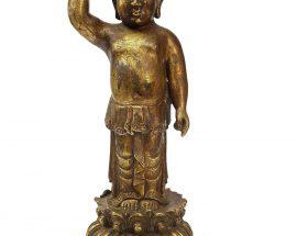 Statue of Siddhartha Baby Buddha