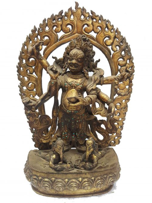 Statue of White Mahakala