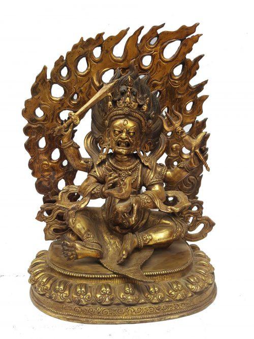 Statue of Sitting Mahakal
