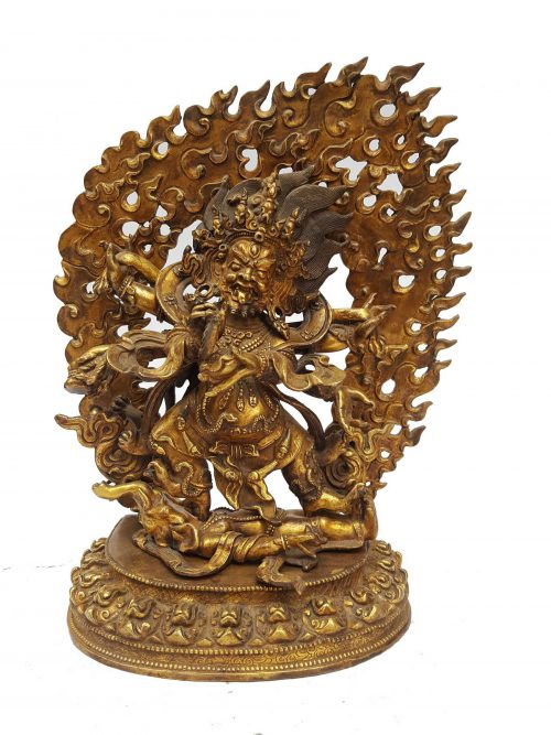 Statue of Black Mahakala
