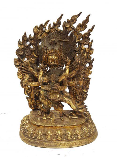 Statue of Vajrakilaya Shakti