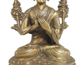 Statue of Tsongkhapa Bronze finishing
