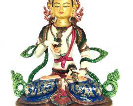 Statue of Vajrasattva Thangka Color finishing