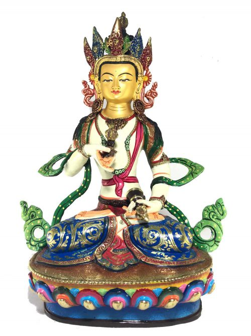 Statue of Vajrasattva Thangka Color finishing