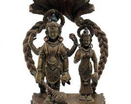Statue of Laxmi Narayan