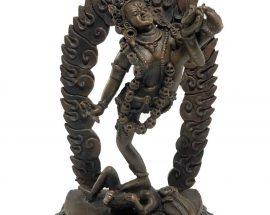 Statue of Akash Yogini