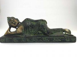 Statue of Nirvana Buddha Brass