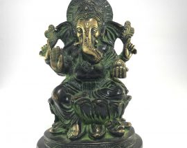 Statue of Sitting Ganesh
