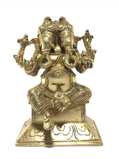 Statue of Double Headed Ganesh