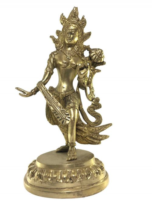 Statue of Dancing White Tara