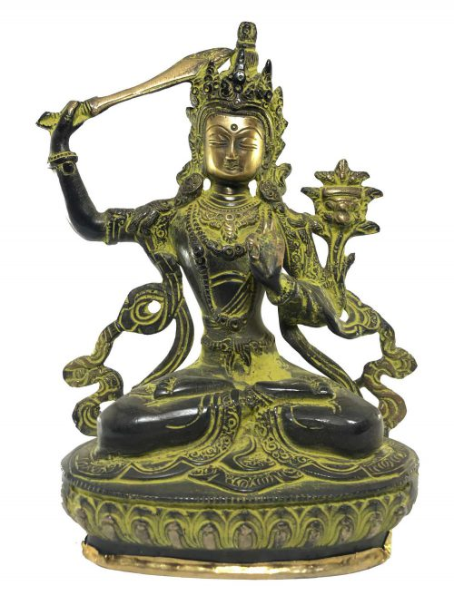 Statue of Manjushree