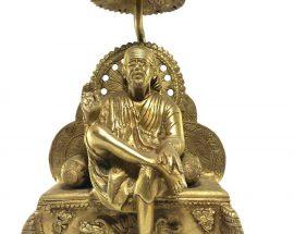 Statue of Sai Baba On Thrown