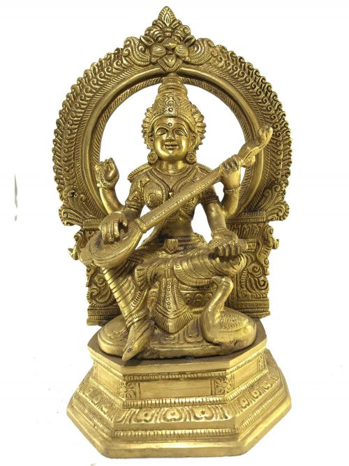 Statue of Saraswoti