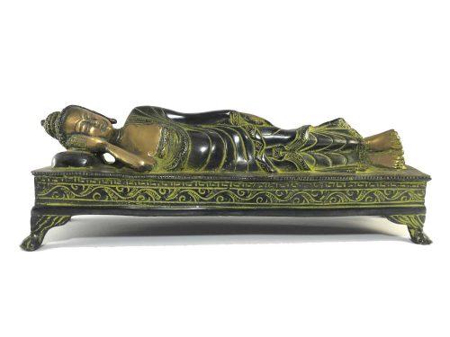 Statue of Nirvana Buddha Double Color finishing
