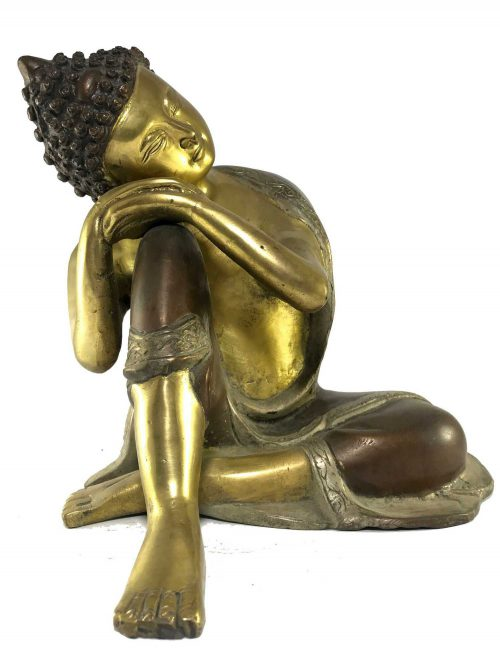 Statue of Resting Buddha Double Color