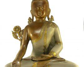 Statue of Medicine Buddha Stone finishing
