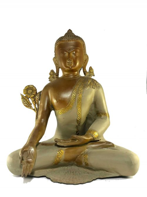 Statue of Medicine Buddha Stone finishing
