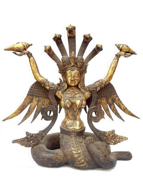 Tibetan Statue of Naga Kanya