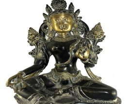 Statue of Green Tara without Base