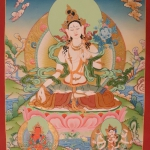 White Tara Thangka Art