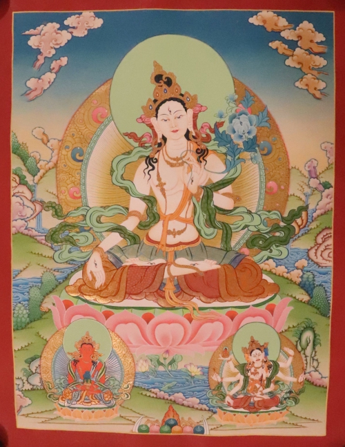 White Tara Thangka Art
