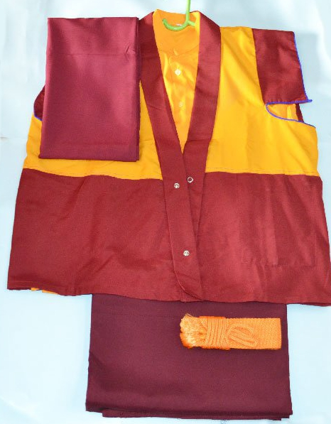Tibetan Monk Dress Set
