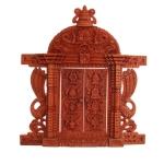 Hand Carved Window with 8 Auspicious Symbol Design