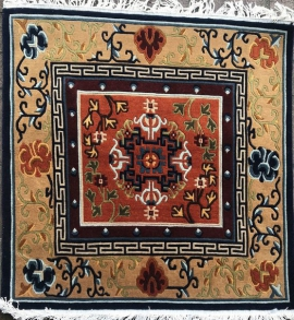 Tibetan Carpet for meditation