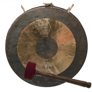 Bronze Gong from Nepal