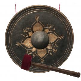 Burmese Bronze Gong