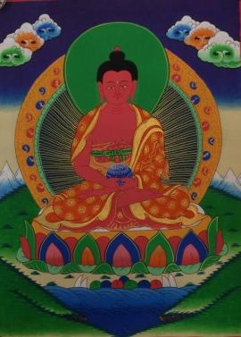 Buddha Amitabha Thangka Art