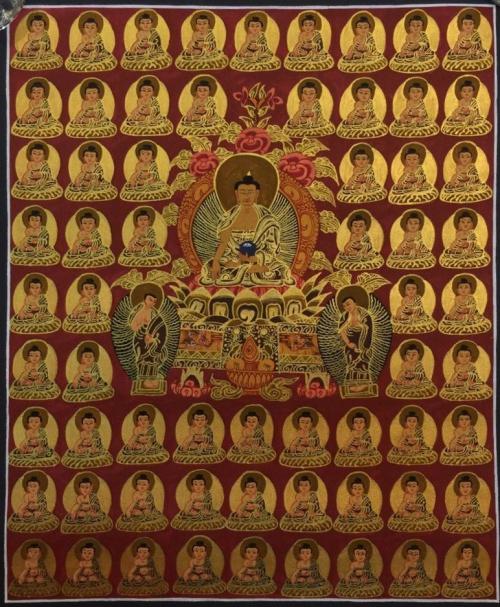 35 Confessional Buddha Thangka
