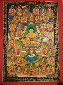 35 Buddha Thangka Painting from Nepal